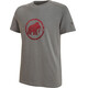 Mammut Trovat Shortsleeve Shirt Men grey